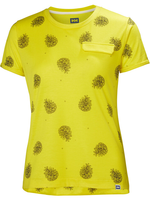 Helly Hansen W's Lomma T-Shirt Dandelion Print